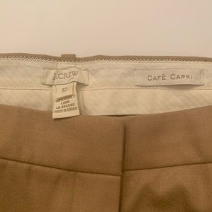 J Crew Capri trousers